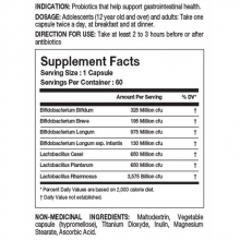 Tested Nutrition Probiotic 60 kapslí