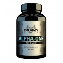 Brawn Nutrition Alpha-One 60 kapslí