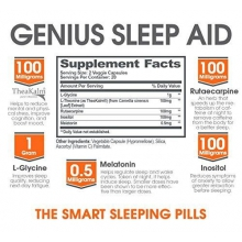 Genius Sleep Aid 40 kapslí