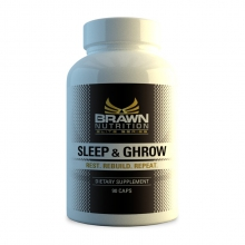 Brawn Nutrition Sleep and Ghrow 90 kapslí