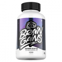 Brain Gains Nootropic Sleep Aid 120 kapslí