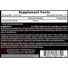 APS Nutrition Creatine Monohydrate 500g