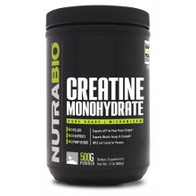 Nutra Bio 100% Pure Creatine Monohydrate 500g