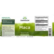 Swanson Maca 100 kapslí