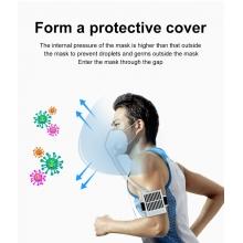 Elektronická anti vírusová maska, HEPA čistič-sterilizátor vzduchu