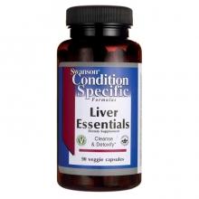 Swanson Liver Essentials 90 kapslí