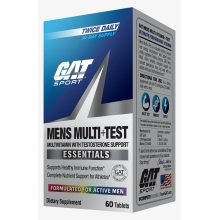 Gat Sport Mens Multi+Test 60 tabliet