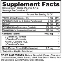 Evogen Nutrition Naturals Carnigen 136g