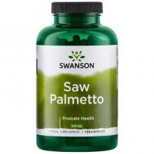 Swanson Saw Palmetto 250 kapslí