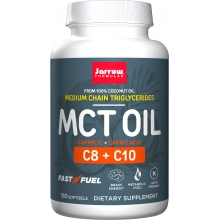Jarrow Formulas MCT Oil 180 softgels