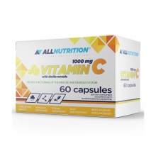 All Nutrition Vitamin C 1000mg 60 kapslí
