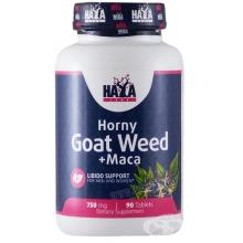 Haya Labs Horny Goat Weed + Maca 90 tabliet