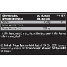 Weider Premium Tribulus 90% Saponins 90 kapslí