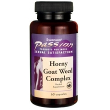 Swanson Horny Goat Weed Complex 60 kapslí