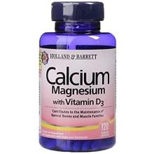 Holland and Barrett Calcium Magnesium with Vitamin D3 120 tabliet