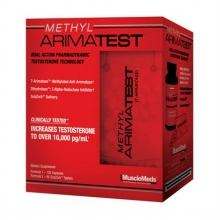 MuscleMeds Methyl Arimatest 120kapslí+60tabliet