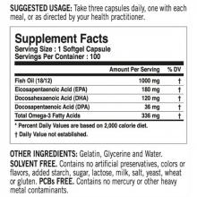 Tested Nutrition Omega 3 100 softgels