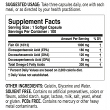 Tested Nutrition Omega 3 100kapslí