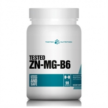TESTED ZN-MG-B6 90kapslí ZMA
