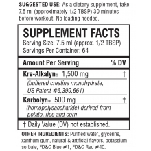 EFX Kre-Alkalyn Liquid 473ml kreatín