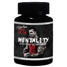 5% Nutrition Mentality 90 kapslí stimulant