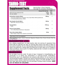 Anabolic Designs Tauro-Test 180kapslí