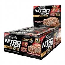 NitroTech Crunch 65g proteínová tyčinka