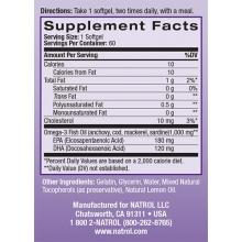 Natrol Omega-3 Fish Oil 90gels
