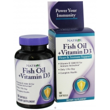 Natrol Fish Oil+Vitamin D3