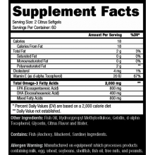 Controlled Labs Orange Oximega Fish Oil 120 softgels