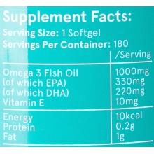 Hydrapharm Pure Fish Oil 180 softgels