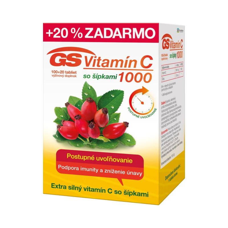 GS Vitamín C 1000 so šípkami