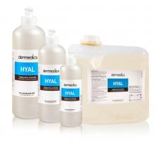 Dermedics HYAL Hyaluronic Acid gél 500ml na omladenie a chudnutie