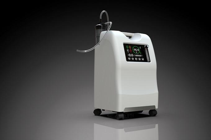 Kyslíkový koncentrátor OxygenO2 Oxygenoterapia 1-5L lekársky kyslíkový koncentrátor s HEPA filtrom